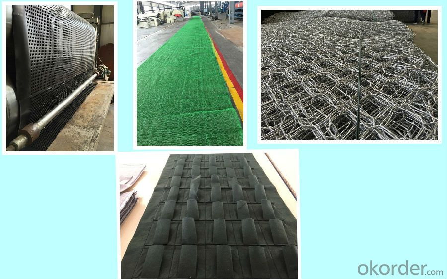 Anti-Skid Needle Punched Non Woven Geotextile CMAX