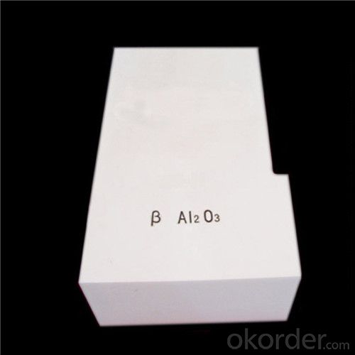 Fused Cast Brick (Alpha-beta Al2O3) for Glass Furnace
