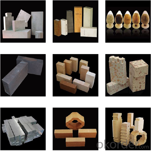Fused Cast Alumina White  Refractory Bricks