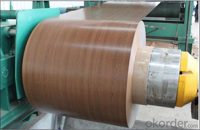 Color Coated Steel Coils Based on Gi Coil