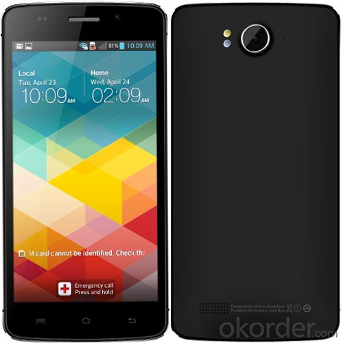 5.5 Inch HD 13MP Android 4.4 Dual-SIM 4G Smartphone