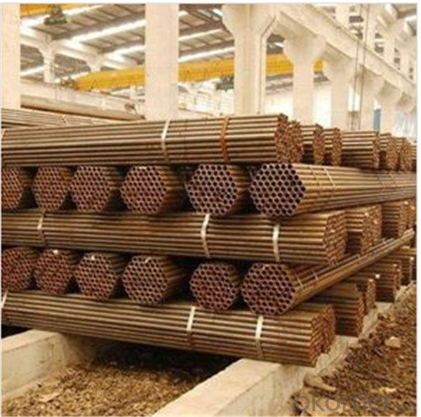 Black Scaffolding Tube 48.6*3.6 Q345 Steel Standard EN39/BS1139 for Sale CNBM
