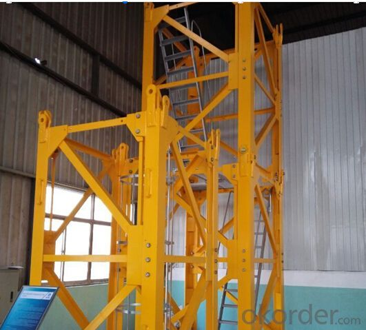 Chinese  Brand New Luffint Tower Crane Tower Crane Pricesold on Okorder