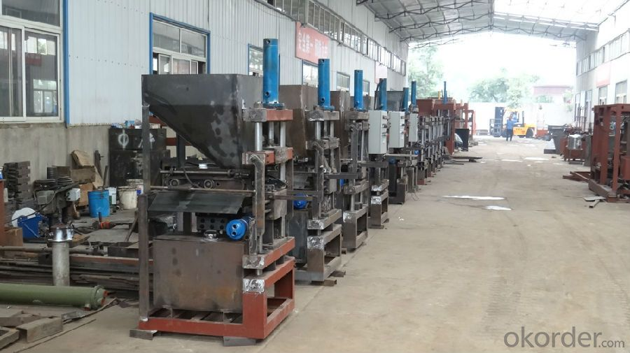 Automatic Interlock Brick Machine High Quality China Manufacturer