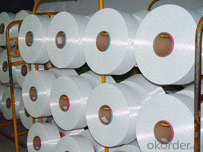 White Color Nylon 6/66 Yarn DTY for Rope