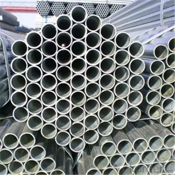 Hot Dip Galvanized Scaffolding Tube 48.3*1.8*6000mm Q235B Steel  EN39/BS1139 for Sale CNBM