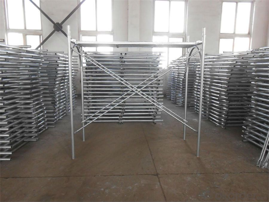 H-Frame Scaffolding System for Construction