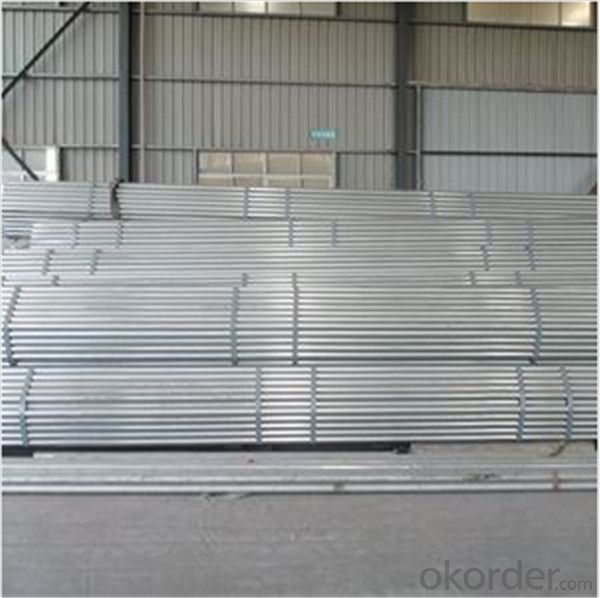 STK500 48.6*2.4 Scaffolding Tube Steel Standard EN39/BS1139 for Sale CNBM