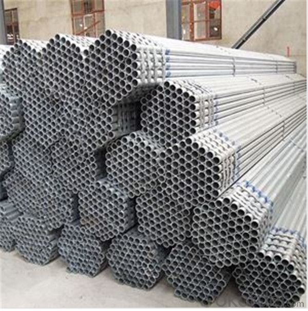 Galvanized Scaffolding Tube 38.1*4.0 Q235B Steel Standard EN39/BS1139 for Sale CNBM