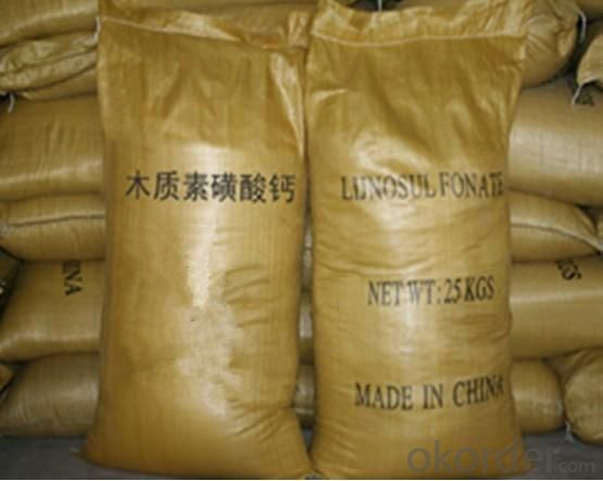Calcium Lignosulfonate Water Reducer Manufactured in China