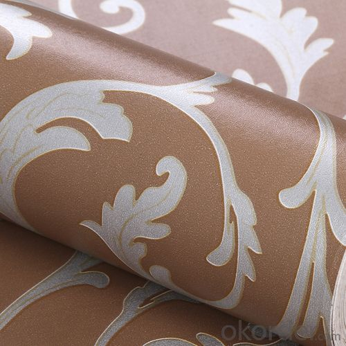 Self-adhesive Wallpaper Customized Modern Solid Color PVC  Wallpaper
