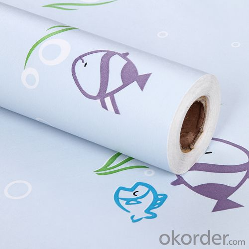 Self-adhesive Wallpaper PVC Wallpaper Designs Transparent  Foil No Glue Wallpaper