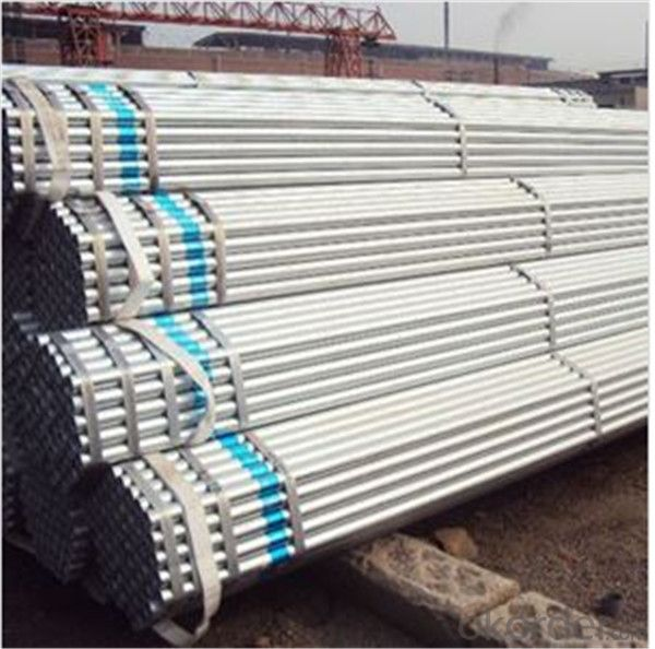 Hot Dip Galvanized Scaffolding Tube 48.3*3.2*6000mm Q235B Steel Standard EN39/BS1139 for Sale CNBM