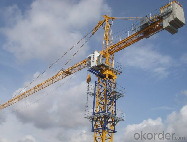Tower Crane Price Used Tower Crane TC7050 sold on Okorder