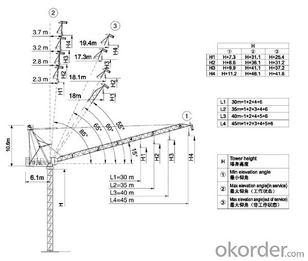 Tower Crane JTL120E8