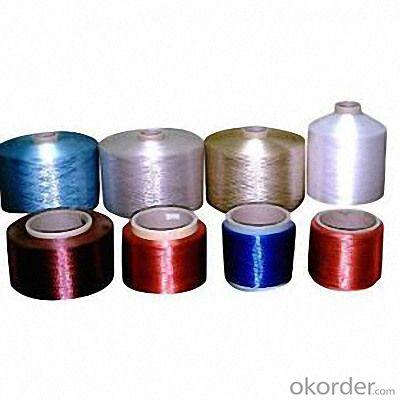 Plastic Acrylic Nylon Yarn Colorful Dyed DTY
