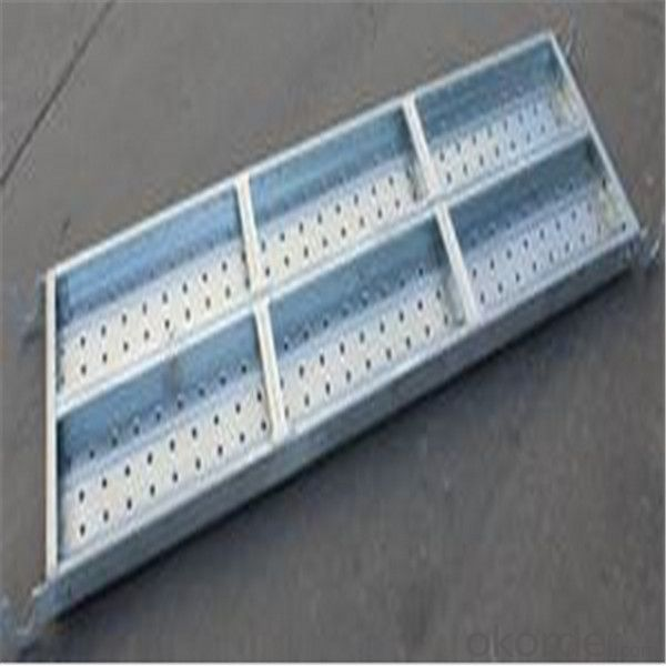 Catwalk for Ringlock System Metal Planks with Hook 500*50*1.0-1.8*1200mm CNBM