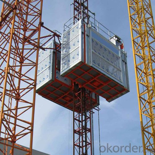 Building Hoist SC100 with VF system has current-restriction function