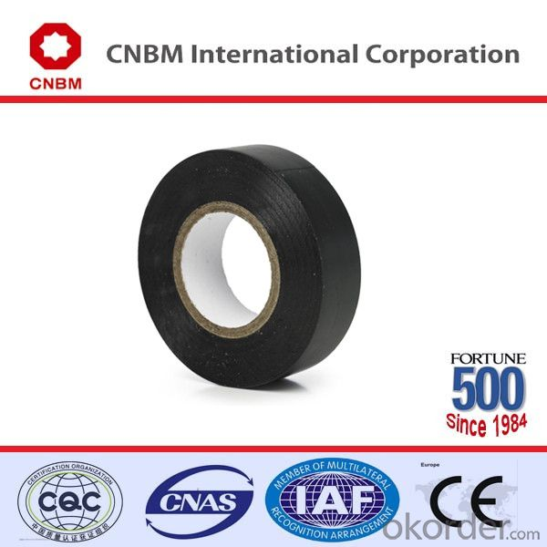 PVC Electrical Tape Below 600V Black PVC Tape for Marking