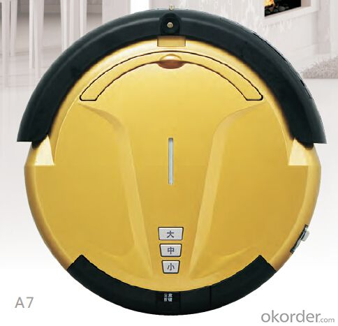 Robot Vacuum Cleaner with LED Indicator and Remote Control CNRB007