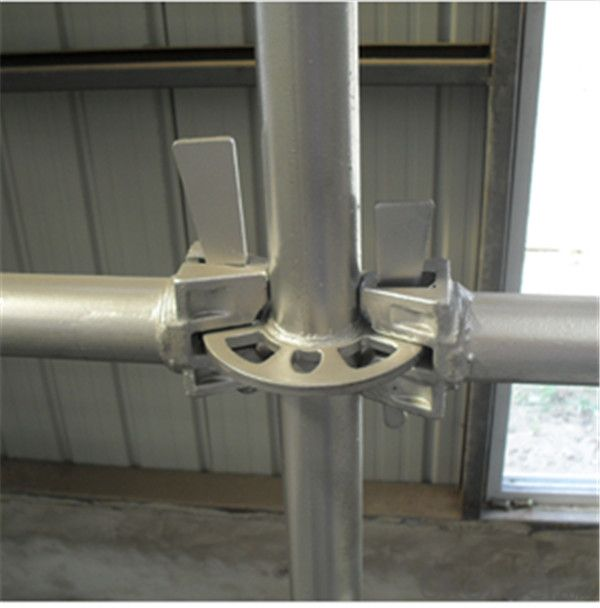 Q235 Hot Dipped Galvanized Ringlock Ledger 48.3*3.25*300-2100mm CNBM