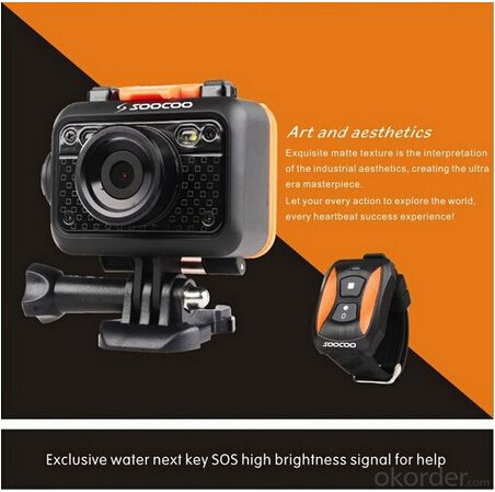 Brand New Wifi Sport Camera with HD Resolution