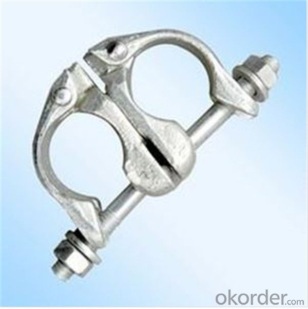 British Drop Forged Swivel Coupler   for Scaffolding Q235 for Sale CNBM