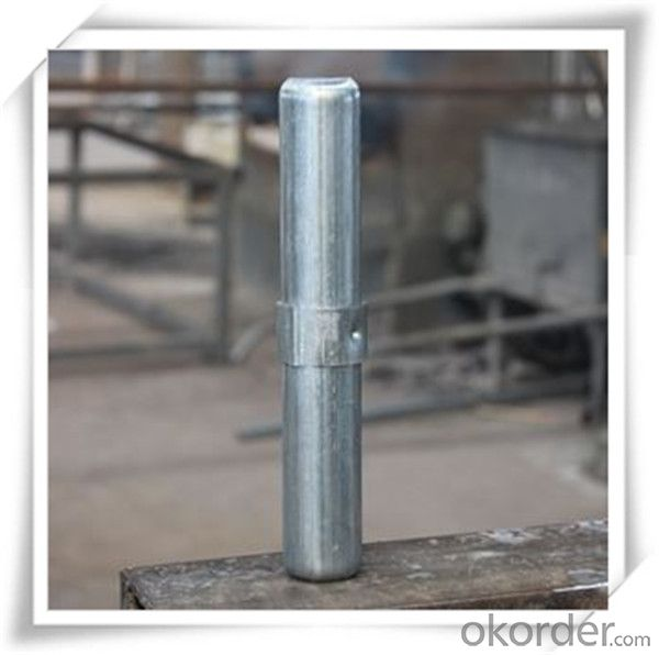 ​Hot Dip Galvanized Joint Pin 36*1.0*235 for Scaffolding CNBM