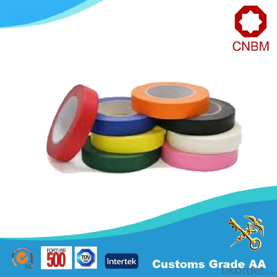 Double Sided Tissue Tape Solvent Based Acrylic 110 Micron Temperature Resistance 60DC