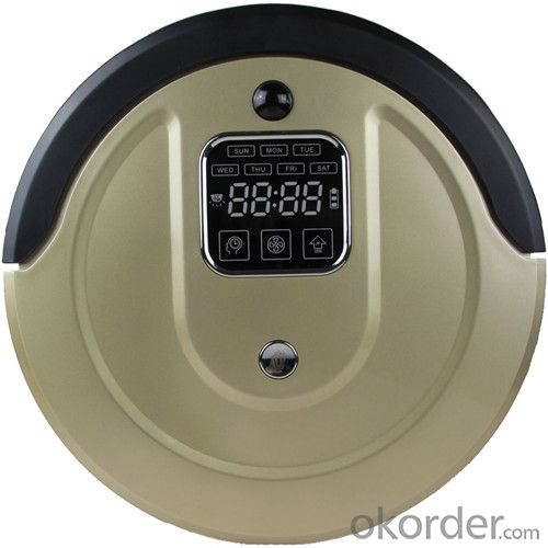 Robot Vacuum Cleaner with LED Indicator and Remote Control CNRB500