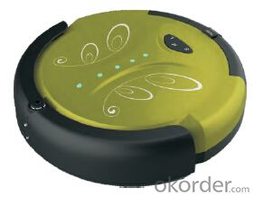 Robot Vacuum Cleaner with LED Indicator and Remote Control CNRB008