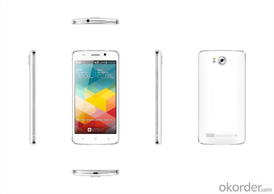 5.5 inch Quad-core Smartphone MTK6582 1.3GHz IPS FWVGA/IPS 480*854 Resolution