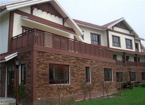 Crack Resistant Outdoor WPC Deck from China