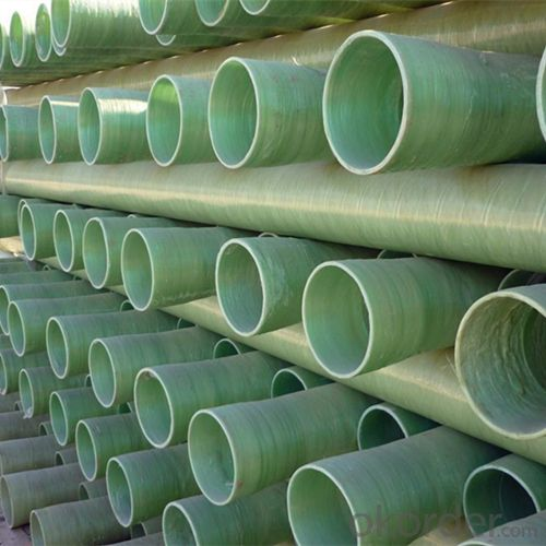 FRP Mortar Pipe/Fiberglass Reinforced Pultruded Pipe