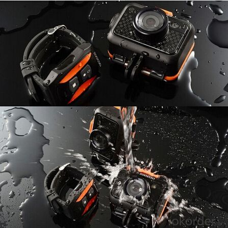 Wifi Sport Camera Widely Used in Outdoor Activities, Extreme Sports, Water Sports and Diving CAR DVR