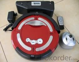 Robot Vacuum Cleaner with LED Indicator and Remote Control CNRB003