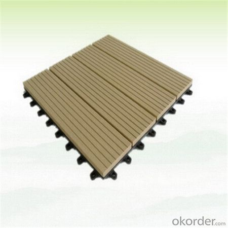 Wpc Interlocking Decking Tiles from Chinese Factory