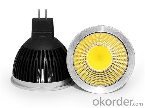 LED Spotlight Dimmable COB GU10 RA>90 120 Degree Beam Angle 85-265v