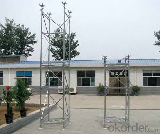 Low Price Ringlock Scaffolding System with Good Guality