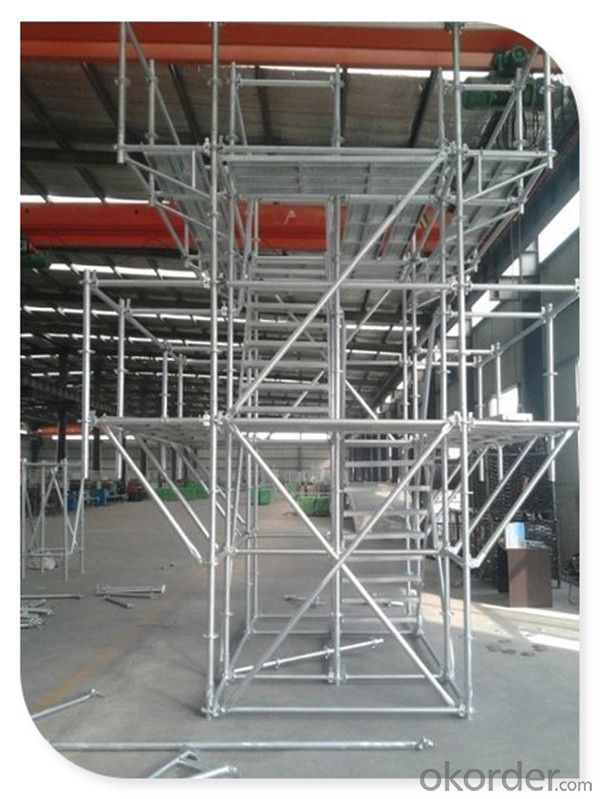 HDG Ringlock Scaffold/ Construction Equipment/ Ringlock Scaffolding System CNBM