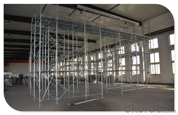 En12810 Construction Platform Ringlock Scaffold System CNBM