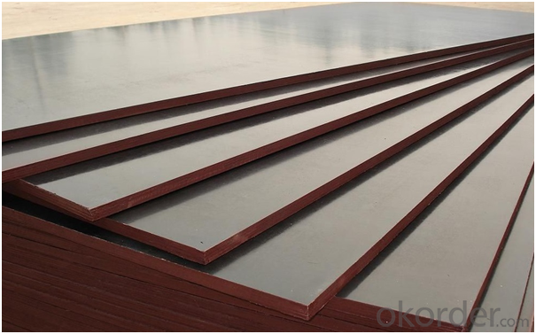 Different Color (Brown, Red  or Black) Film Faced Plywood