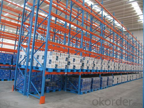 Heavy Duty Pallet Racking Systems for Warehouse