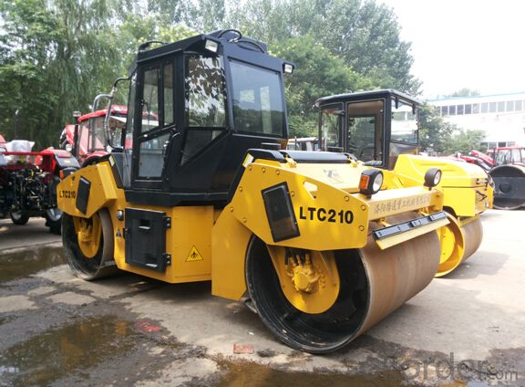 Hydraulic Double Drum Vibratory Roller LTC210