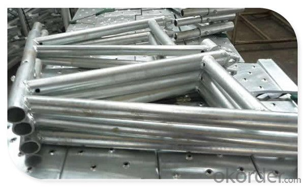 Metal Layher Allround Scaffolding with En12810 Standard  and SGS Certified CNBM