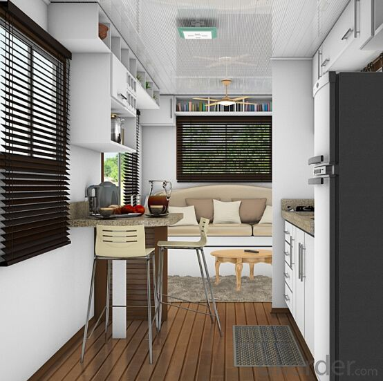 Container Houses Prefabricated House Villa by 20ft Size Houses