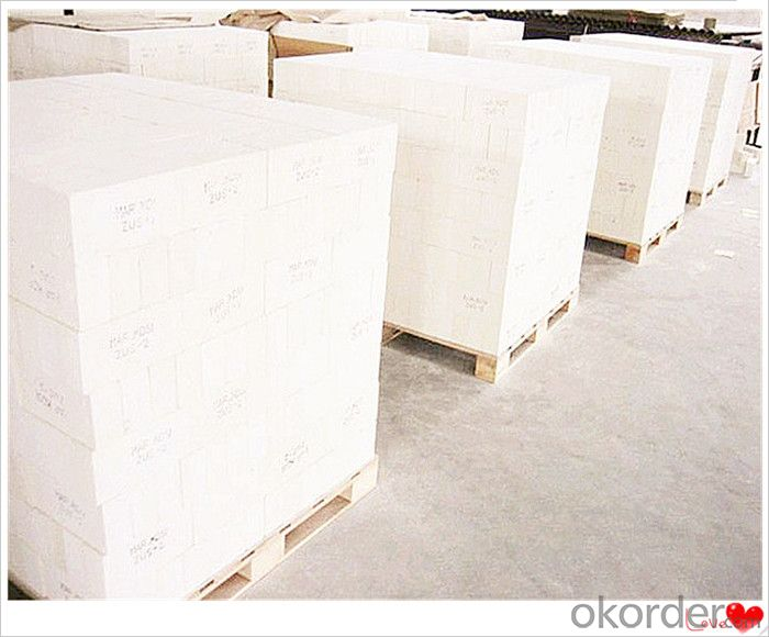 Special Shaped Corundum Fire Bricks High Bulk Density for Hot Surface Lining Furnance