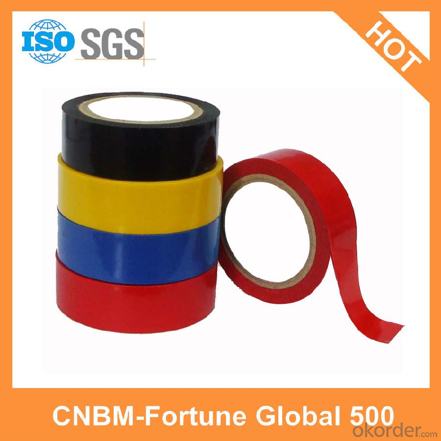 Colorful PVC Electrical Tape Hot Selling for Wires Wrapping