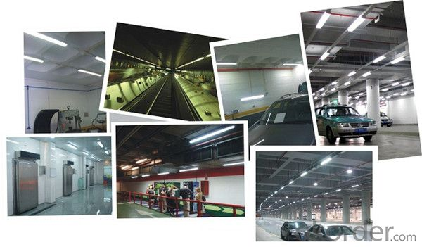Emergency Led Ceiling Light Dust Proof Led Lighting