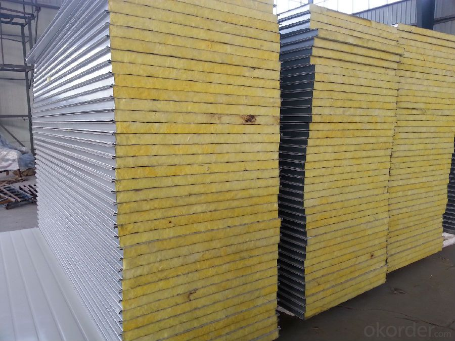 Container Houses Sandwich Panels Wall and Roof Cladding